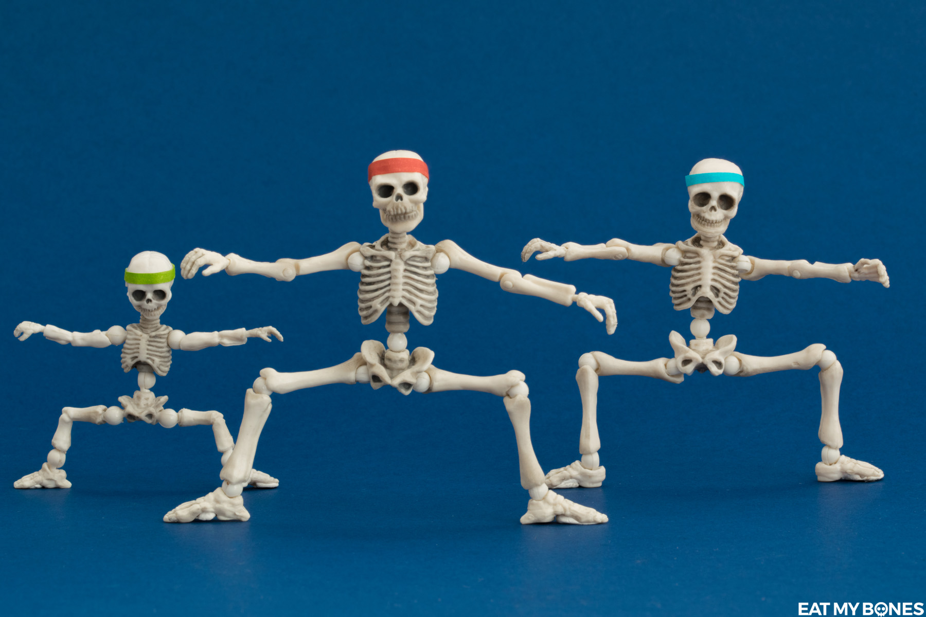 SiPgoes52 Fitness - Pose Skeleton - Toy photography - Miniature - Eat my Bones